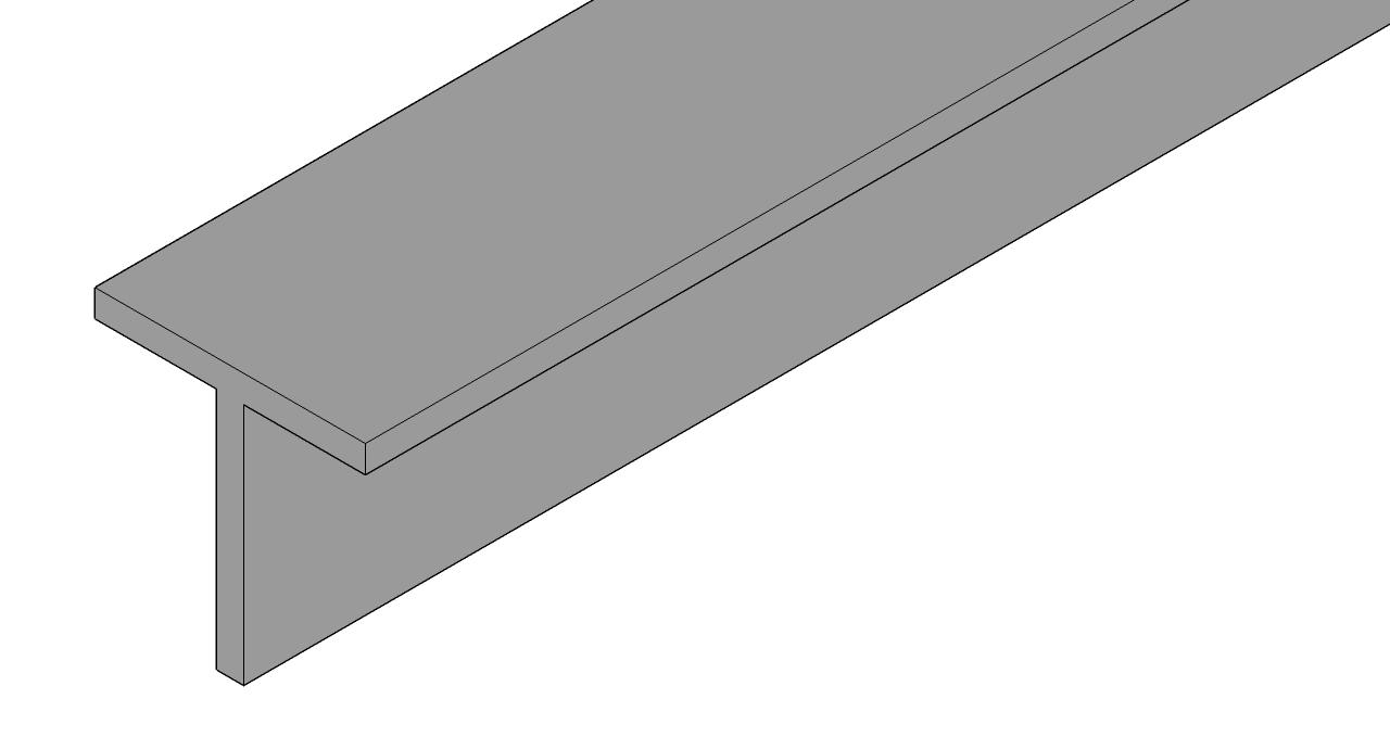 aluminium-t-profiel