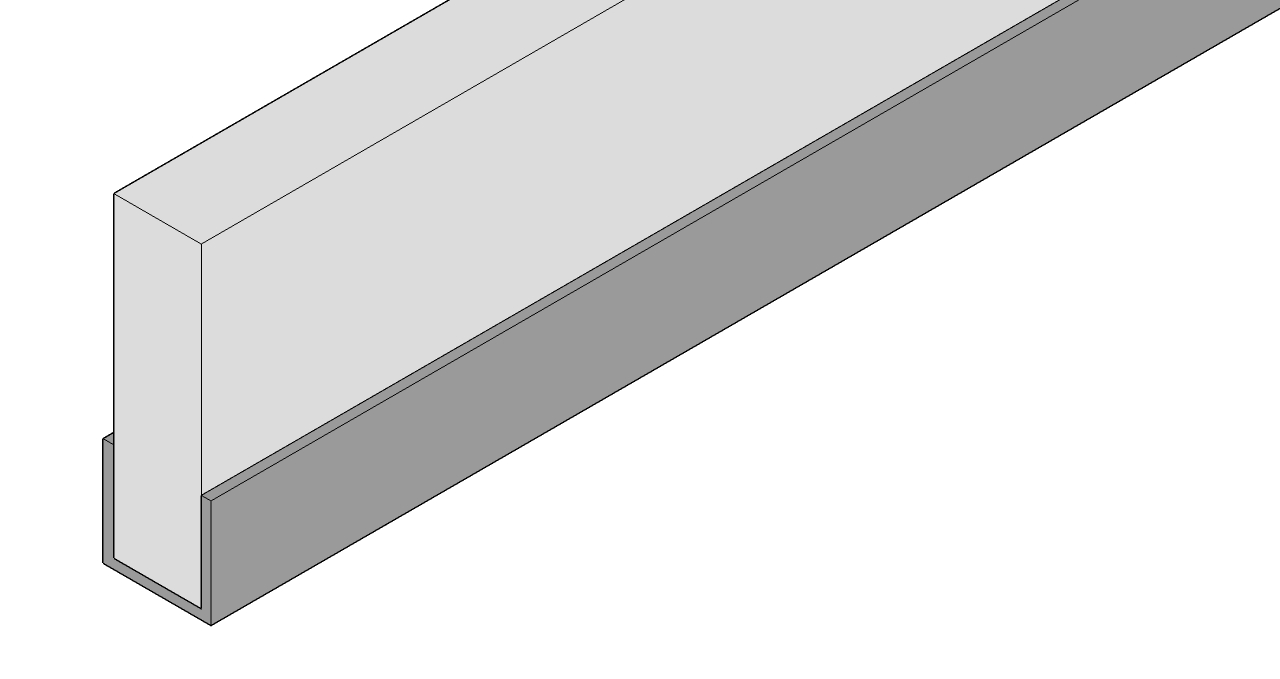 aluminium-u-profiel-scherpe-hoek